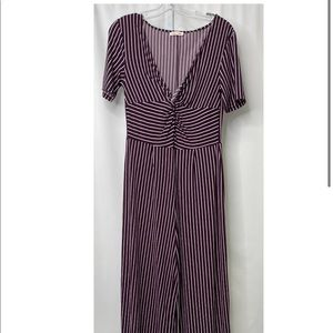 🌹2 for $45 Striped Jumpsuit